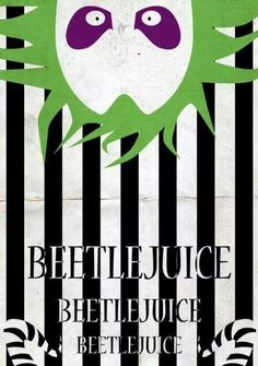 My whole house is in b&w stripes because I'm obsessed with Beetlejuice since I was a little kid. And it's so nice when someone comes to my house and immediately say Beetlejuice. Horror Art, Horror Movies, Horror Crafts, Tim Burton Personajes, Beetlejuice Halloween, Beetlejuice Movie, Beetlejuice Quotes, Halloween Maze, Desenhos Halloween