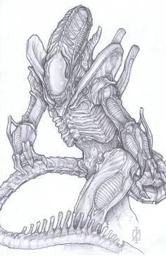 Xenomorph Alien - Chris Fulton