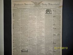 POULSONS-AMERICAN-DAILY-NEWSPAPER-THE-WESTERN-COUNTRY-1825