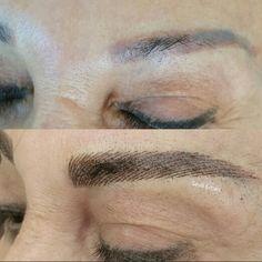 #kalıcımakyaj #sevilercan #permanentmakeup #3deyebrows #hairstrokes #kılatımı #fioafio