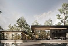 Revit Architecture, Interior Architecture, Scary Places, Forest House, Rural Area, Types Of Houses, Facade, Villa, Cottage