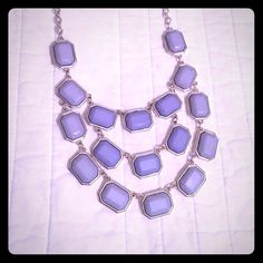 Blue statement necklace New York & company light blue statement necklace. Brand new condition! No longer sold at NY&C. 🎉15% off on bundles of 2+ items🎉 New York & Company Jewelry Necklaces