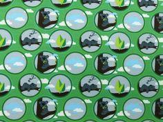 Baumwolljersey Koala Bär, grün, SW-KOALA-02,  bei stoffe-hemmers.de, Wunderschöner, weicher Baumwolljersey für süßen Koala-Bären, vielseitig