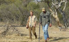 Searching for Game at Game Ranch, Limpopo, South Africa