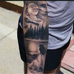 Beautiful. ..done by Tyler Malek