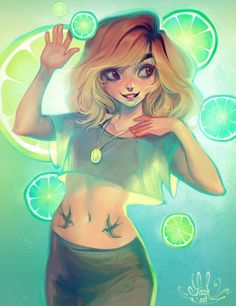 Art by Lois Van Baarle a.k.a. Loish* Blog/Website | (http://loish.net/) ★ || CHARACTER DESIGN REFERENCES | マンガの描き方 • Find more artworks at https://www.facebook.com/CharacterDesignReferences http://www.pinterest.com/characterdesigh and learn how to draw: #concept #art #animation #anime #comics || ★