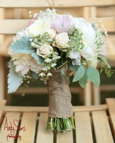 Wedding Bouquet  Sweet Pea Floral