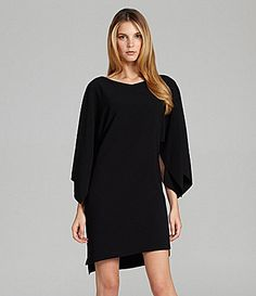 Elie Tahari Patsy 3/4-Sleeve Boatneck Dress | Dillards.com  So Cute I LOVE this!