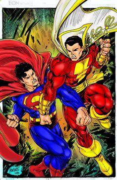 Superman & Shazam