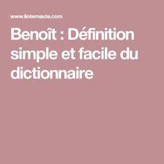 Benoît :ok