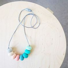 I love this shot from @dearlittleonedesigns of her #onelittlemunchkin silicone necklace she purchased at the @portkennedymarket the other weekend. 💛 Our website is looking quite empty since last Friday's sale, thank you to everyone who made a purchase, all orders have been sent so you can start stalking your posties!  This week we hope to release some new designs, stay tuned! ✌️