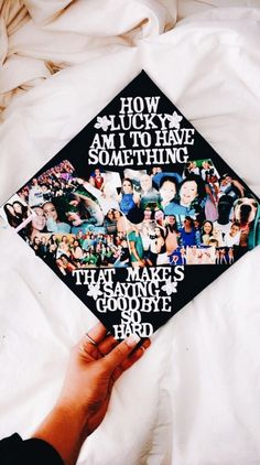 Looking for inspiration to DIY your college graduation cap? Find 47 amazing graduation cap ideas that are sure to catch the eye of everyone! From hilarious graduation caps to meaningful ones, whatever you are looking for, you'll find it here Funny Graduation Caps, Graduation Cap Designs, Graduation Cap Decoration, Graduation Diy, Graduation Pictures, Funny Grad Cap Ideas, Sorority Graduation Caps, Decorated Graduation Caps, High School Graduation Quotes