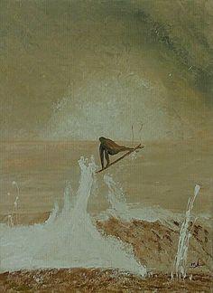 Surf paintings. Air. 60x80.
