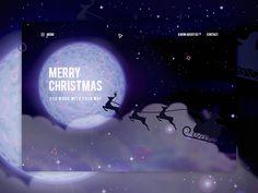 Web page for christmas