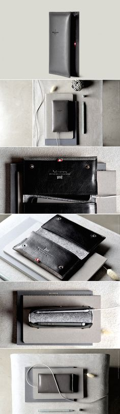 #hardgraft Phone Fold Wallet / Neutral