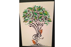 arabic calligraphy tree - Google Search