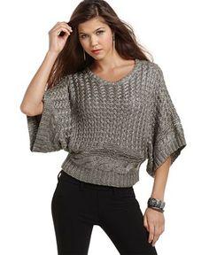 Sweater - love pattern & shape