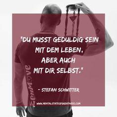 Die wahrscheinlich grösste Einsicht bei meinem Gespräch mit Stefan Schwitter, wird in diesem kleinen  Zitat aus dem Interview perfekt zusammen gefasst. Es geht nicht immer darum so schnell wie möglich von A nach B zu kommen, denn der Weg ist genau so wichtig wie das Ankommen. Warum? Der Weg bereitet dich auf dein Ziel vor und ist von essenzieller Bedeutung, kommst du einfach an ohne den Prozess durchlaufen zu haben, wirst du überfordert sein. #Podcast #Wrestling #Zitat #Inspiration Meditation, Interview, Wrestling, Movies, Movie Posters, Inspiration, The Last Song, Lucha Libre, Biblical Inspiration