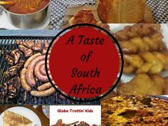 Traditional delicious food from South Africa.