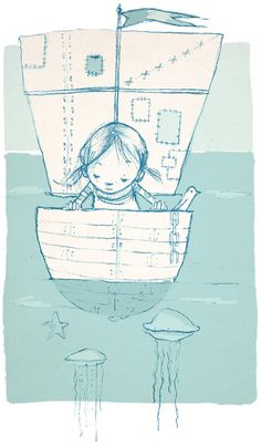 Abigail Halpin Illustration ...would love to frame this for the beach house