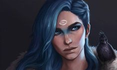 Kai Fine Art is an art website, shows painting and illustration works all over the world. The Elder Scrolls, Character Portraits, Character Art, Character Design, Character Ideas, Character Reference, Fantasy Characters, Female Characters, Dnd Characters