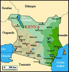 Kenya Metro Map - http://holidaymapq.com/kenya-metro-map-2.html