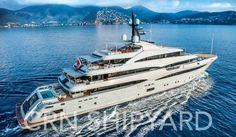 CRN Presenta M/Y Cloud 9 al Monaco Yacht Show 2017