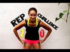 20 Rep Challenge - Dünne, straffe Beine - Knackiger Po - Körperfett redu...