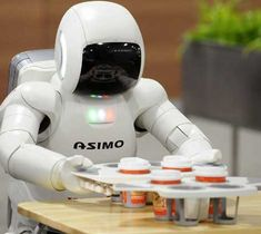 robots doing human jobs | ASIMO – The Most Advanced Humanoid Robot