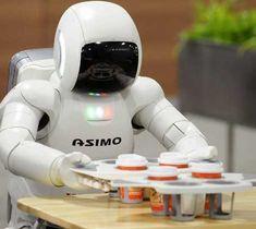 robots doing human jobs   ASIMO – The Most Advanced Humanoid Robot