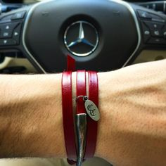 Our Red Genuine Leather Triple Wrap Bracelet is finally here! Get it here: http://coryscreations.net/collections/triple-wrap-bracelets/products/red-wine-triple-wrap