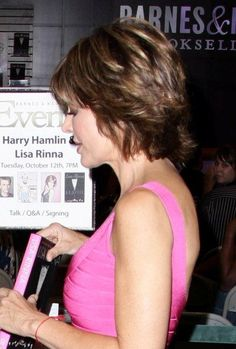 Growing Out A Lisa Rinna Hairstyle   Short Hairstyle 2013