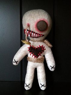 Handmade Voodoo Doll Gory Gummy by MoodyVoodies on Etsy, $19.99