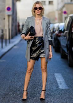 adf23bd612f How to Wear Leather in the Summer  Your Street Style Guide