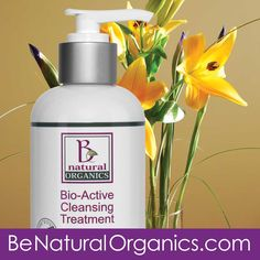 Brightens and evens out skins color and texture while nourishing and retaining the skin's natural moisture balance. Lifts aging surface cells leaving behind healthy cells. This process stimulates collagen and will tighten skin.  #BeNaturalOrganics #OrganicSkinCare #FaceWash #BestFaceWash #Bioactive