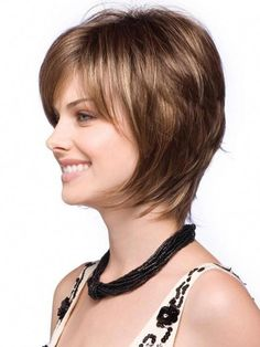 Brand: Rene' of Paris Noriko Wig CollectionType of Hair: Synthetic Hair FiberHeadsize: AverageWeight: oz. Short Bobs With Bangs, Bobs For Thin Hair, Bob Haircut With Bangs, Haircut For Thick Hair, Angled Bob Hairstyles, Short Hairstyles For Thick Hair, 1940s Hairstyles, Short Hair Cuts, Male Hairstyles