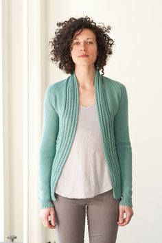 Sweater pattern: bryony / bristol ivy / quince & co yarn