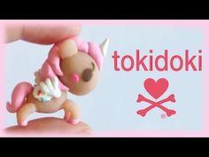 Tokidoki Unicorno Charm polymer clay tutorial