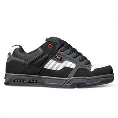 DVS Shoes Enduro Heir black red grey grosses chaussures de skate 99,00 € #skate…