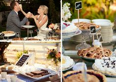 moon pie wedding reception | Megan & Jonathan's Handcrafted Wedding | Paper Moon Weddings