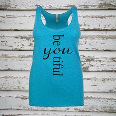 Be YOU tiful BeYoutiful Tri-Blend Tank Top