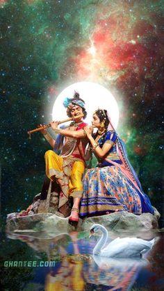 starbharat radhakrishna – eternal lovers hd phone wallpaper