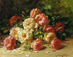 stilllifequickheart:  Abbott Fuller Graves Roses Late 19th - early 20th century
