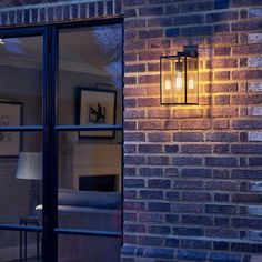 360€ | Astro Box Lantern outdoor wall lamp height 35 cm | Lights.ie