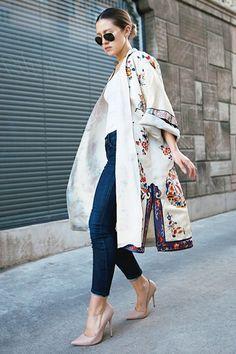 2015 Yaz Modası Kimonolar