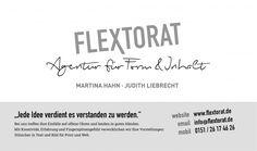 Flextorat, Agentur für Digital- und Printmedien