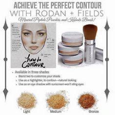 """Mineral prides is the only """"make up"""" we carry at Rodan + Fields.  So amazing to be foundation free! Message me today for details!  Https://melissaford5.myrandf.biz"""