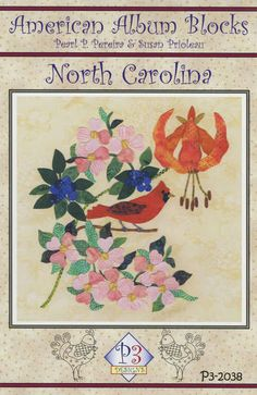 click here to view larger image of American Album - North Carolina Tarheel State (PATTERNS)
