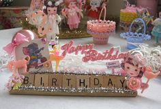 Vintage Birthday Keepsake