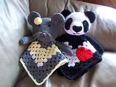 Ravelry: Animal Lovey Combo